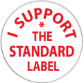 Badges for the Standard Label Kickstarter